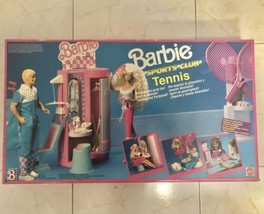 1989 BARBIE MATTEL - RARE VINTAGE- Sports Club TENNIS - NEW AND SEALED - $167.95