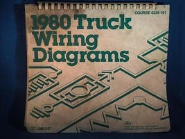 Vintage 1980 Ford Truck Master Wiring Diagrams - $13.85