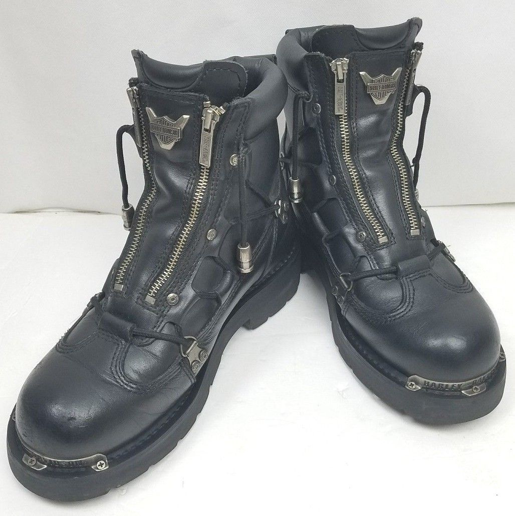 d3f2914dd89d Harley-Davidson Men s Black Leather Riding and 50 similar items. 57