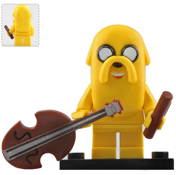 Jake the Dog Adventure Time Lego Minifigures Block Toy Gift for Kids