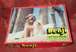 Vintage Joe Camps Benji Jigsaw Puzzle 100pcs House of Games image 1