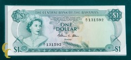 1974 The Central Bank of Bahamas UNC Condition Banknotes of all Nations - $127.66