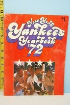 1972 New York Yankees Baseball Major League Yearbook - $3.95