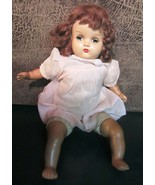 Vintage Horsman composition baby doll - ADORABLE FACE - $47.45
