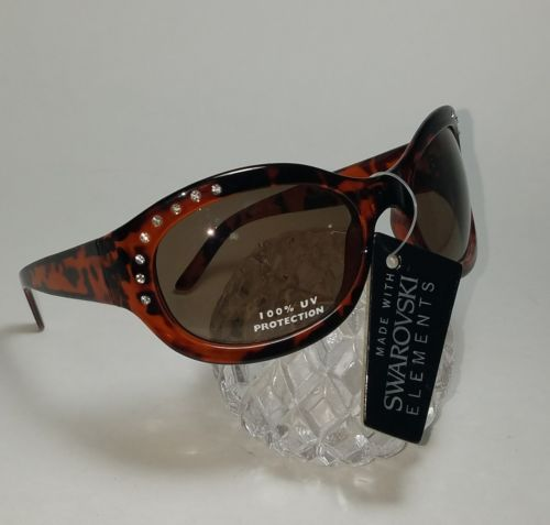 Made with Swarovski Elements Womens sunglasses - 100% UV Protection