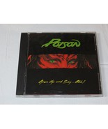 Open Up and Say...Ahh! by Poison CD 1988 Capitol Records Every Rose Has ... - $11.97