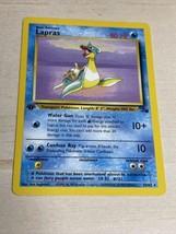 Lapras 25/62 1st Edition Fossil Set Rare 1999 Non-Holo Pokemon Card NM - $24.75