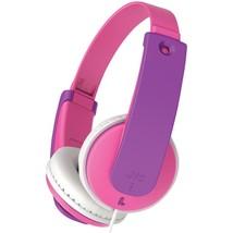 JVC HAKD7P Kids' Over-Ear Headphones (Pink) - $29.01