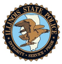 Illinois State Police Sticker Decal R4873 Illinois Police Department - $1.45+