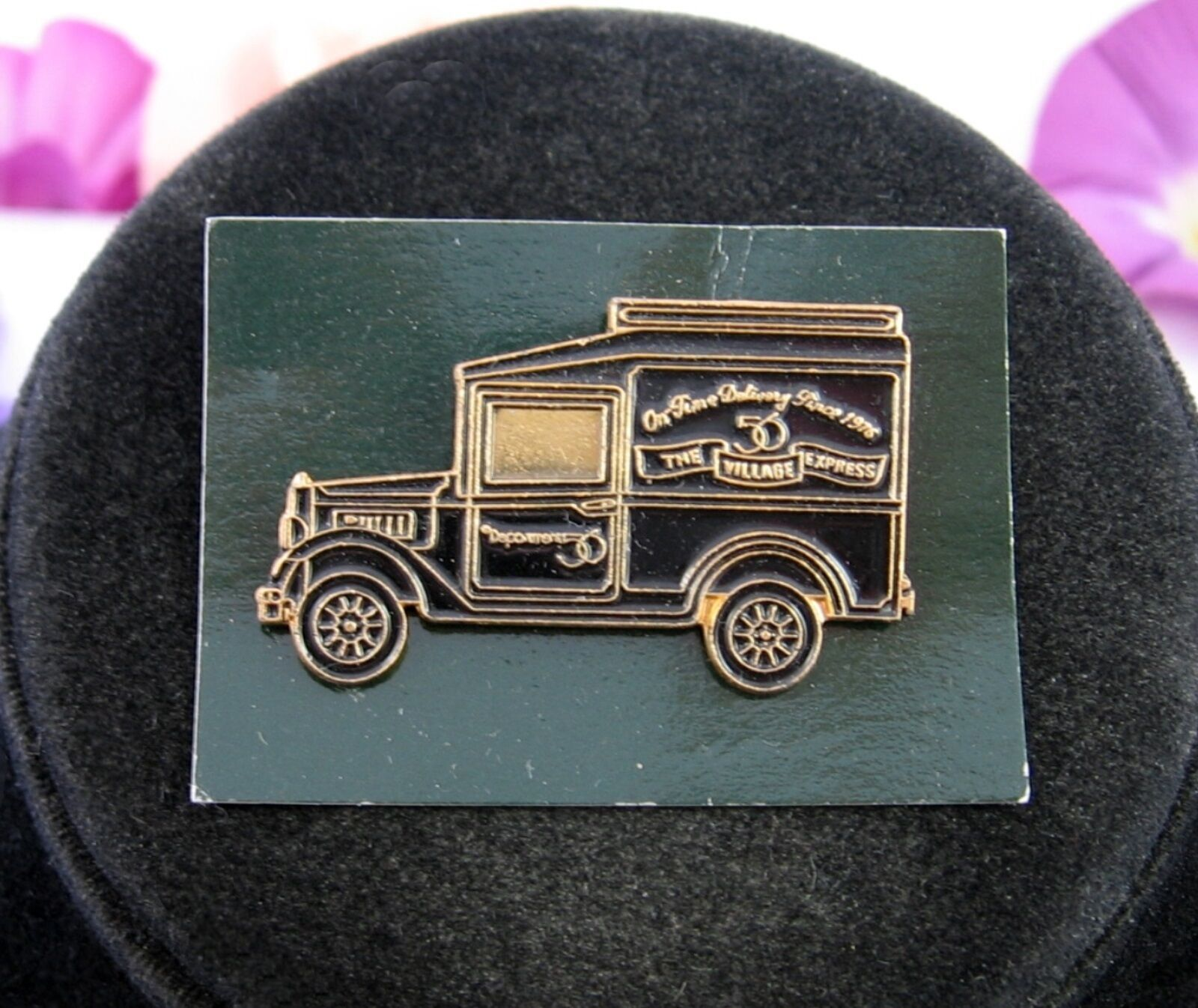 Primary image for TRUCK PIN Department 56 Pinback Vintage Brooch  Card Collectors Exposition 1995