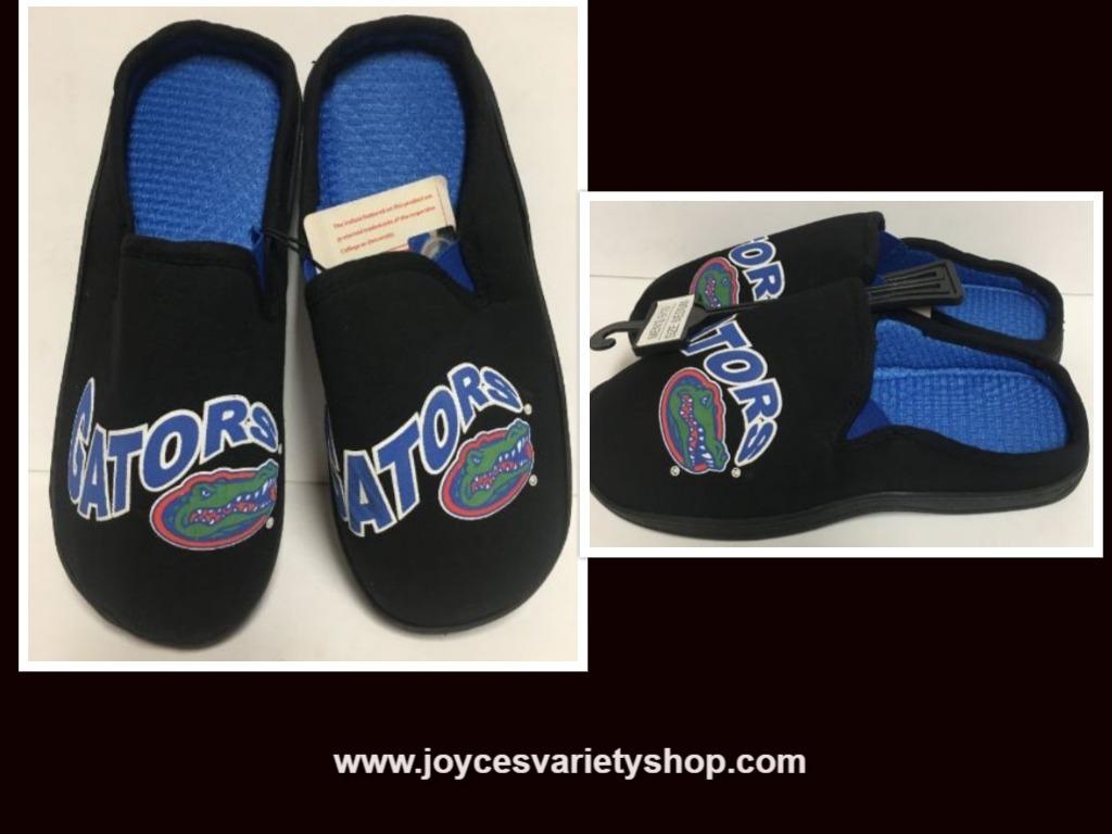 Florida University Gators Men's Cushion Memory Soles Slippers Shoe Various Sizes