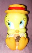 WARNER BROS 1997 TWEETY BIRD CERAMIC COOKIE JAR EXCELLENT - $49.99