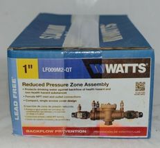 Watts Reduced Pressure Zone Assembly One Inch Lead Free LF009M2-QT image 5