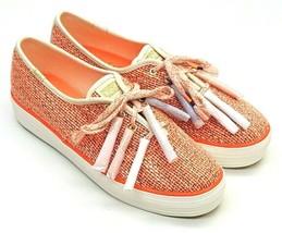 Keds Women's Keds X Lolita Mia Triple Tassel Coral Multi WF61063 Choose Size - £19.02 GBP