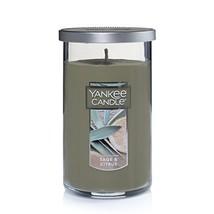 Yankee Candle Medium Perfect Pillar Candle, Sage & Citrus - $16.99