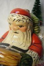 Vaillancourt Follk Art Santa Riding the North Pole Express  SIGNED!    no. 17036 image 7