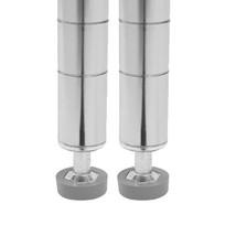 Seville Classics Chrome Shelving Poles, 72 Inch WEBK428 - 2-Pack - $27.32