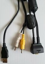Genuine Nikon Oem Usb Rca Av Audio Video Cable Zcat 2035-0930 Nikon D50 - $4.98