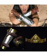 Wonder Woman Princess Diana Prince Cosplay Armband Gauntlets / Headband - £9.76 GBP+