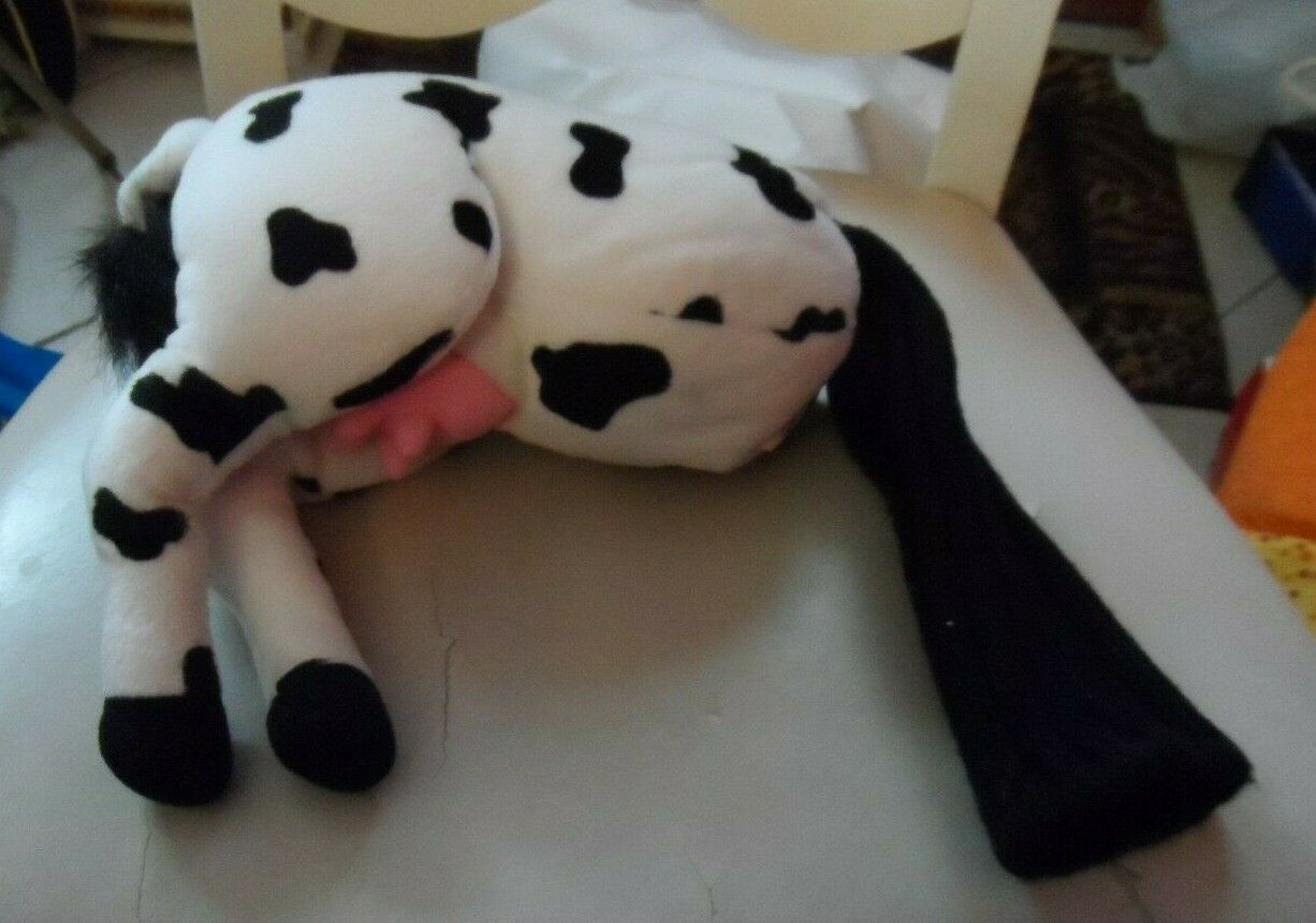 "Primary image for Butt head Golf Club Cover  Plush Cow butt with sock bottom 17""* NWT"