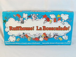 Ruffhouse 1980 Board Game Parker Brothers 100% Complete Bilingual Excellent Plus - $18.94