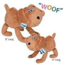 Puppy Pals Plush Dog Character Toys For Dogs With Barking Soundchip Choo... - £11.55 GBP