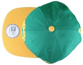Crooks & Castles New Era Purple/Yellow or Khaki Chain C Snapback Hat image 7