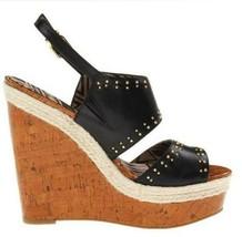 Womens Jessica Simpson GENO Platform Wedge Sandal HeelsBlack New Alsina ... - $53.99