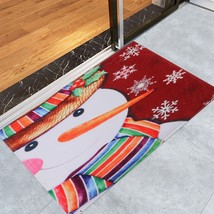 Christmas Snowman Pattern(COLORMIX W24 INCH * L35.5 INCH) - $14.31