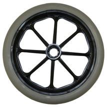 """8 x 1"""" 8 Spoke Wheelchair Caster Wheels (Pair) - $42.20"""
