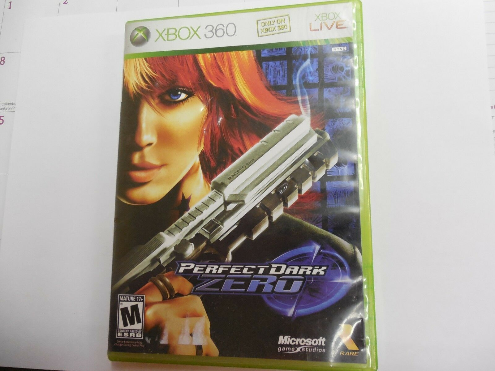 Perfect Dark Zero (Microsoft Xbox 360, 2005)  **PRE-OWNED**