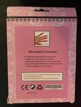 PINK 10 Pcs Plastic Nail Soak Off UV Gel Art Polish Remover Wrap Clip - $14.03