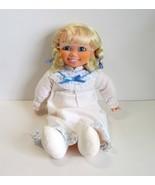 "1990 Northern Tissue 16"" Advertising Doll-Girl Wearing White Flannel Nig... - $12.50"