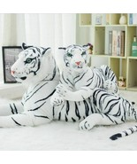 12-47in High Quality White Tiger Stuffed Toy Lovely Baby Kitty Plush Dol... - $15.77+