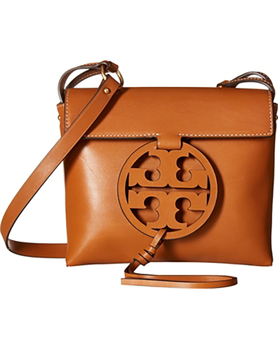 Tory Burch Fleming Convertible Chain Large Shoulder Bag - Brown