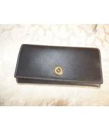 $128.00 Lauren Ralph Lauren Millbrook Flap Continental Wallet, Black - $44.55