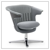 Steelcase i2i Collaborative Chair by Steelcase, Color = Nickel - $1,622.00