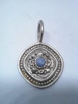 Stylish Pendant With Centered Gem Stone - $6.78