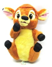 "Disney Babies BAMBI Deer Fawn Park Souvenir all Plush 10"" tall Embroider... - $4.94"