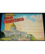 1940's Fascinating SAN FRANCISCO Antique POSTCARD FOLDER Stanley A Piltz... - $14.99