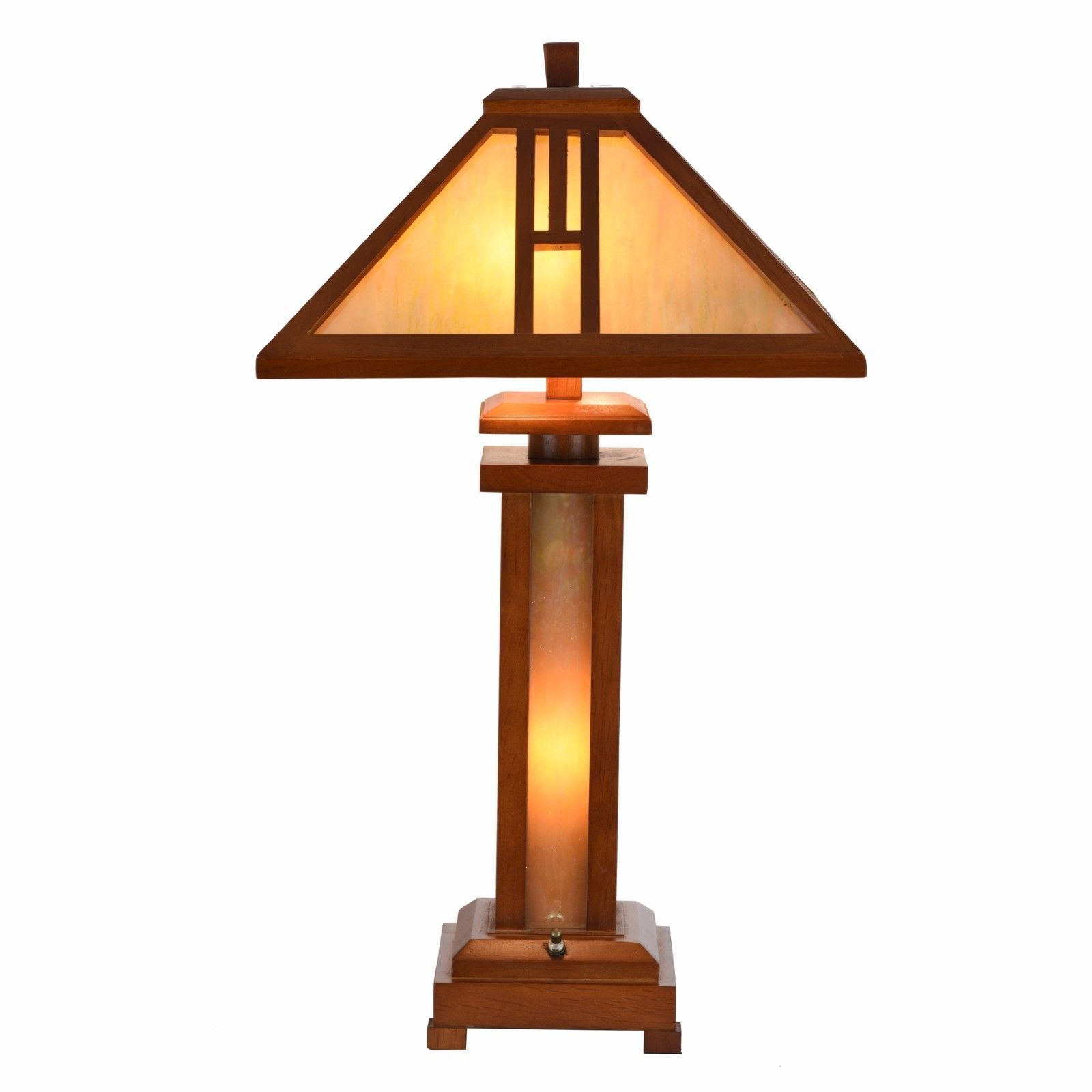 Cloud Mountain Tiffany Style Table Lamp Mission Home Office Décor Desk Lamp