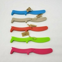 Wooof Woof Dog Spreader Knife Butter Plastic Fougerat Dachshund You Choose - $9.85