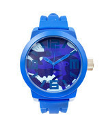Kenneth Cole Reaction Silicone Blue band Mens Quartz watch RK1296 - £46.57 GBP