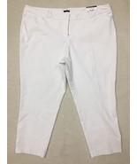 Worthington Womens Slim Fit White Pants Size 24W - $19.79