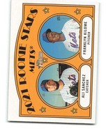 2021 Topps Heritage #155 Ali Sanchez/Franklyn Kilome NM-MT RC Rookie Mets - $1.25