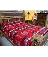 "Luxury Cotton Blend Bedspread Queen Size Blanket Throw 88""x98"" Geometric... - $89.95"