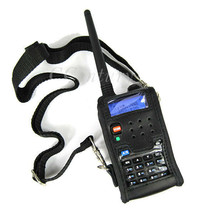 Walkie Talkie Leather Soft Case Cover For BAOFENG UV 5R Portable Ham Radio - $8.87