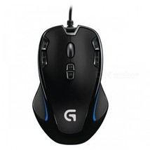 Logitech G300s 2500DPI Ergonomic Wired Optical Computer Gaming Mouse for... - $50.44