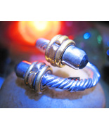 HAUNTED RING 3X SECRET SOLITUDE POWER MAGICK ONYX WRAP WITCH ALBINA - $59.77