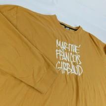 Marithe Francois Girbaud Gold Long Sleeve T Shirt Sz 3XL Embroidered Logo - $19.99